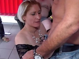 Huge-titted Mummy Wants Group Sex