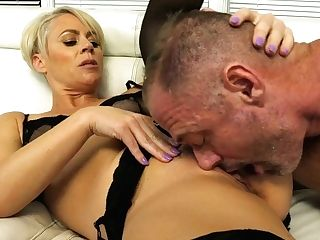 Two Tattooed Bisexual Dudes Fuck Each Other And Nasty Blonde Helena...