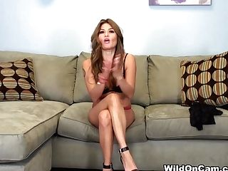 Best Pornographic Star Charmane Starlet In Horny Solo Chick,...
