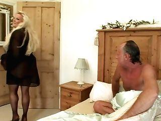 Horny Adult Movie Star Kirsten Halborg In Incredible Undergarments,...