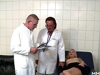 German Ass-fuck Examination